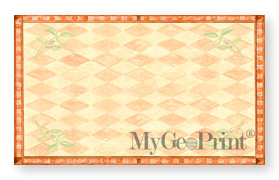 tuscan leaves business cards geographics