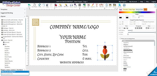 customize-business-cards-geographics-iclicknprint